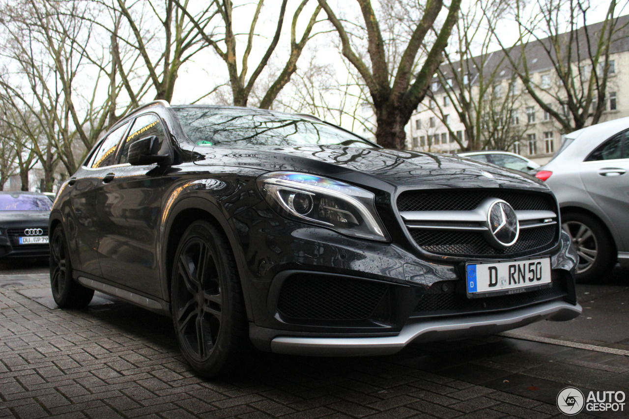 mercedes benz gla 45 amg x156 27 december 2017 autogespot. Black Bedroom Furniture Sets. Home Design Ideas