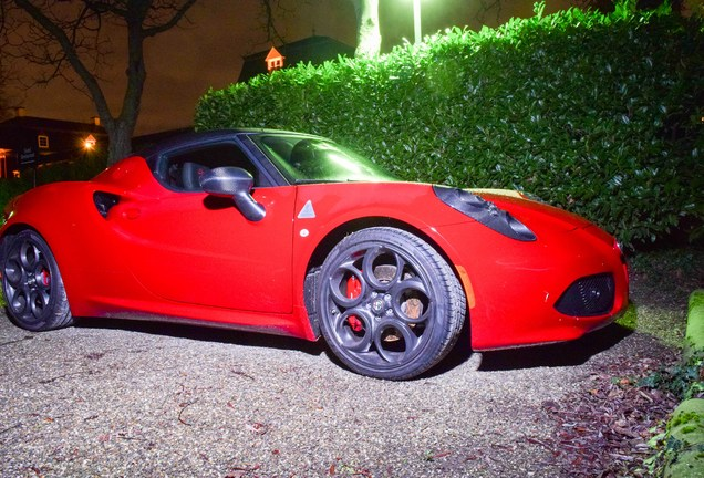 Alfa Romeo 4C Coupé CPZ Track Edition