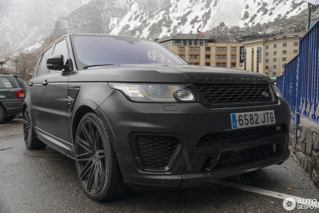 land rover range rover sport svr 28 december 2017 autogespot. Black Bedroom Furniture Sets. Home Design Ideas