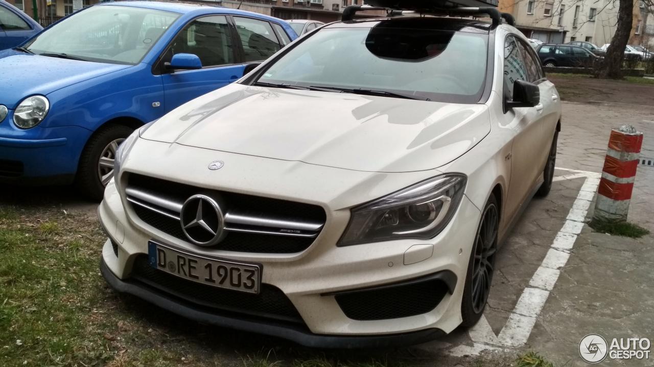 Mercedes benz cla 45 amg shooting brake 28 december 2017 for Mercedes benz cla 2017