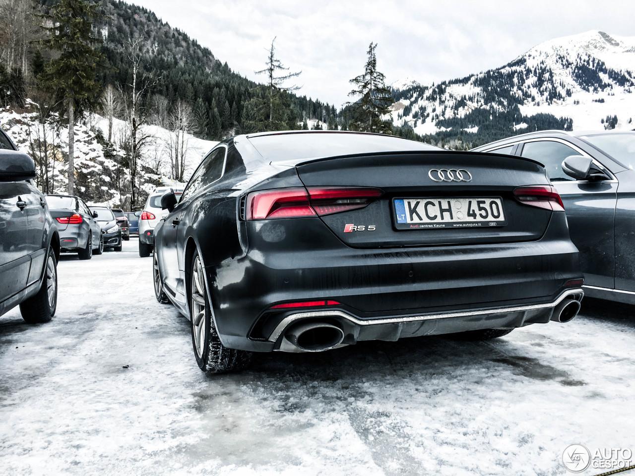 Audi RS5 B9 - 29 December 2017 - Autogespot