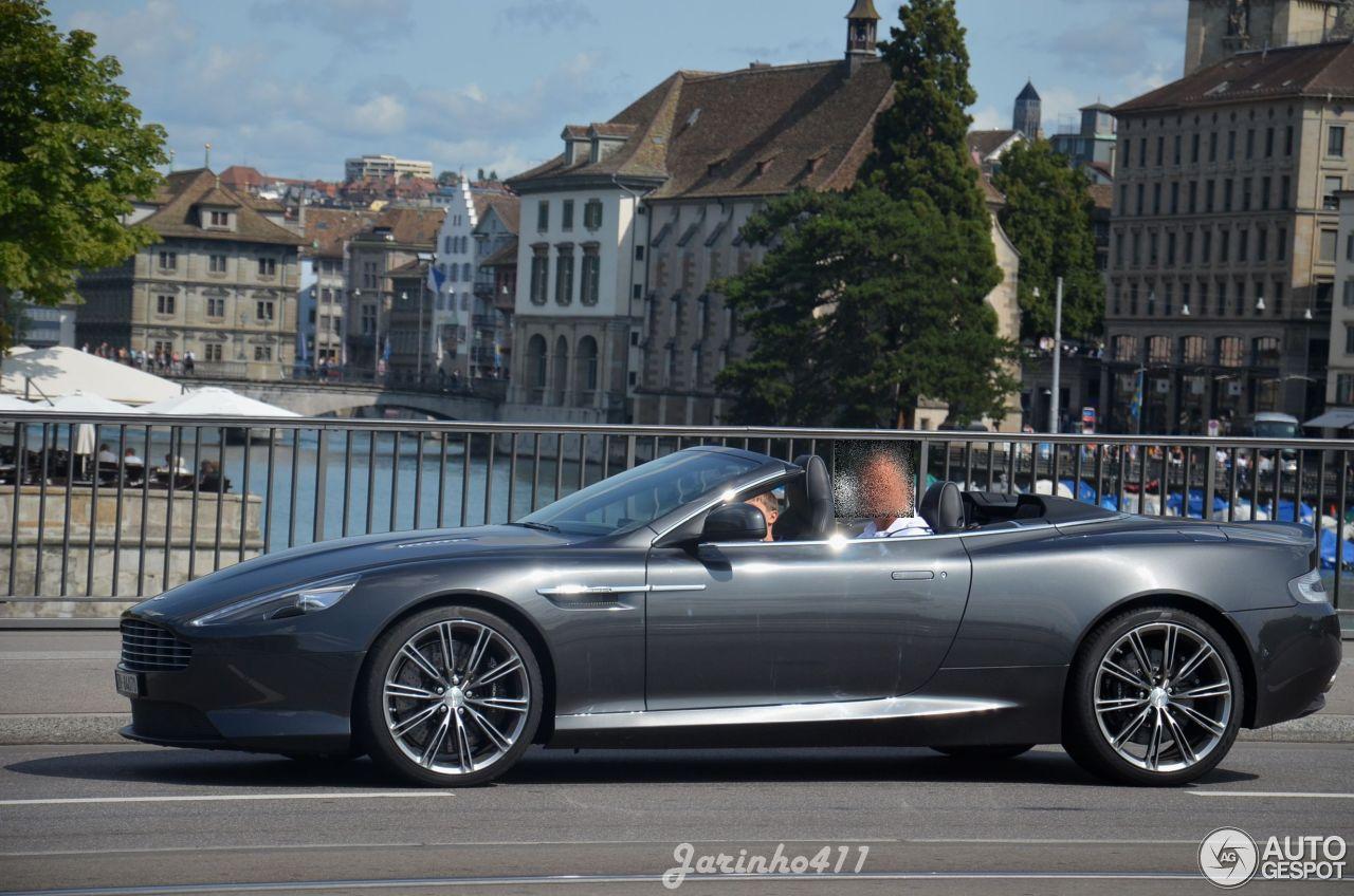 Aston Martin Db9 Volante 2017