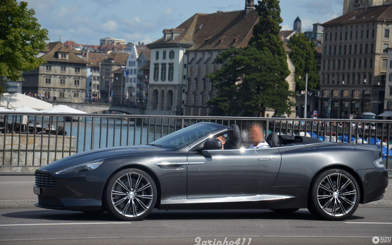 Aston Martin DB Volante December Autogespot - Aston martin db9 volante