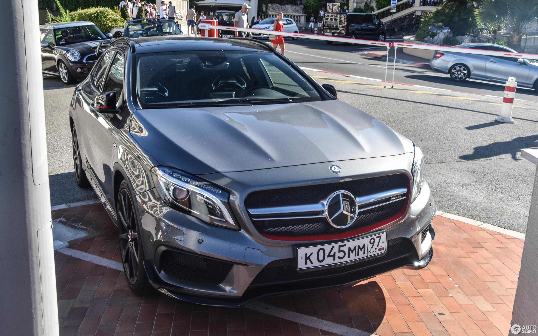Mercedes Benz GLA 45 AMG Edition 1 31 December 2017 Autogespot